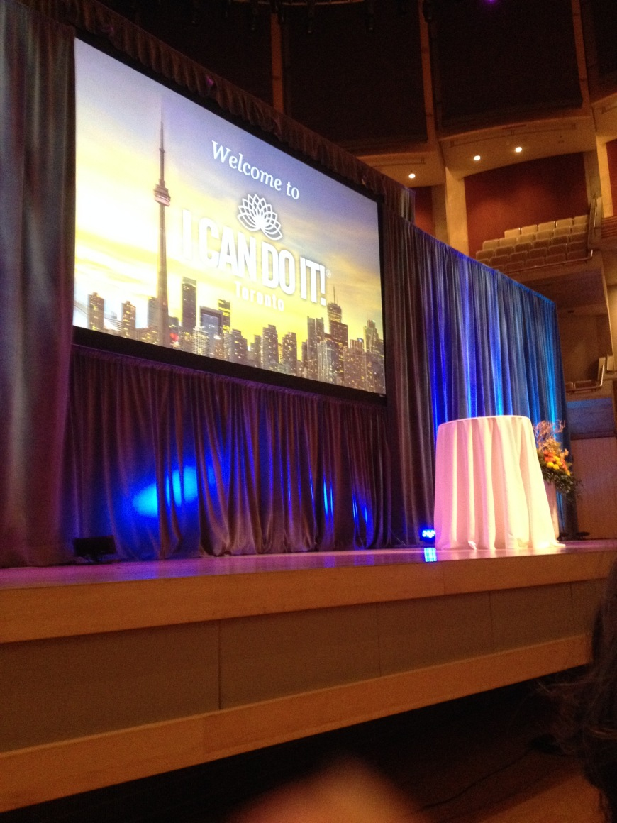 I Can Do It! Stage Toronto 2016
